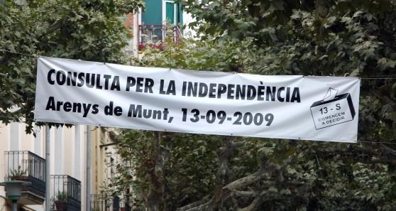 REFERÉNDUM SOBRE LA INDEPENDENCIA DE CATALUÑA CONVOCADO EN ARENYS DE MUNT
