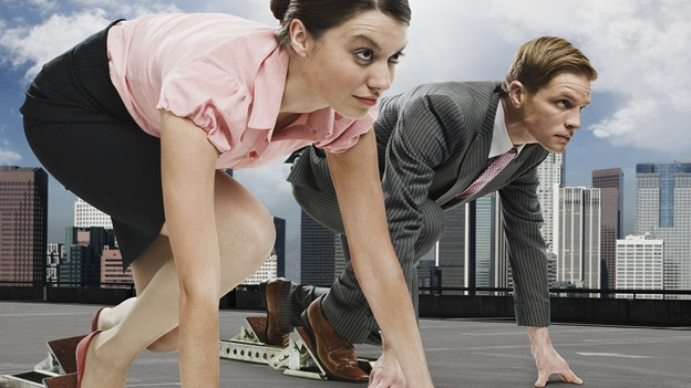 competencia entre hombres y mujeres